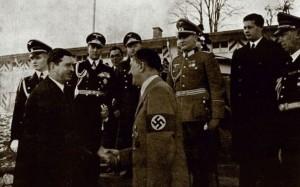 Carol al II-lea și Hitler (1938). Sursa: www.istorie-pe-scurt.ro