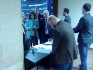 Miercuri 26.03: Delegația PAS depune actele la Biroul Electoral Central.