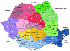 Harta 2. Propunerea UDMR