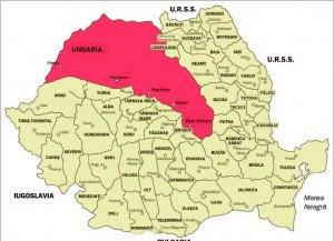 Harta 4. Dictatul de la Viena