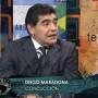 Diego Maradona la emisiunea Telesur