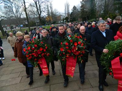 Delegația Partidului german  Die Linke