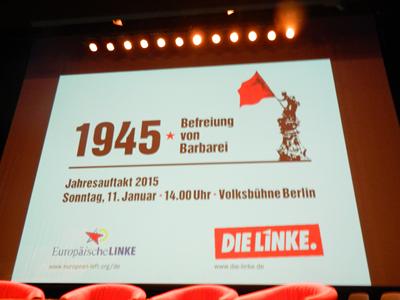 Titlul spectacolului : 1945 - Eliberarea de barbarie