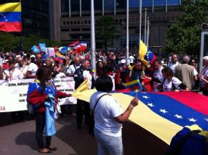 Mișcare de Solidaritate și Sprijin cu Venezuela, Bruxelles, 10 iunie 2015.